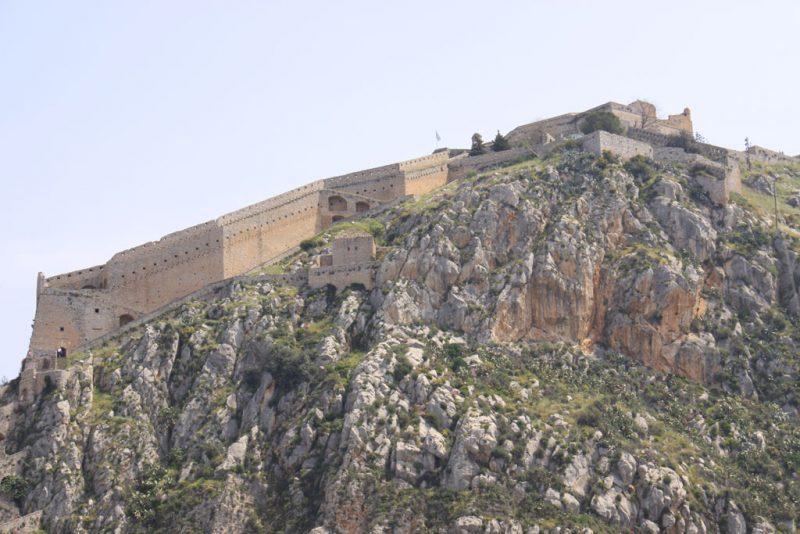 Fortaleza de Palamedes, en Nauplio
