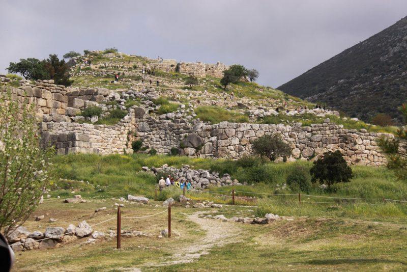 Acrópolis de Micenas, vista general