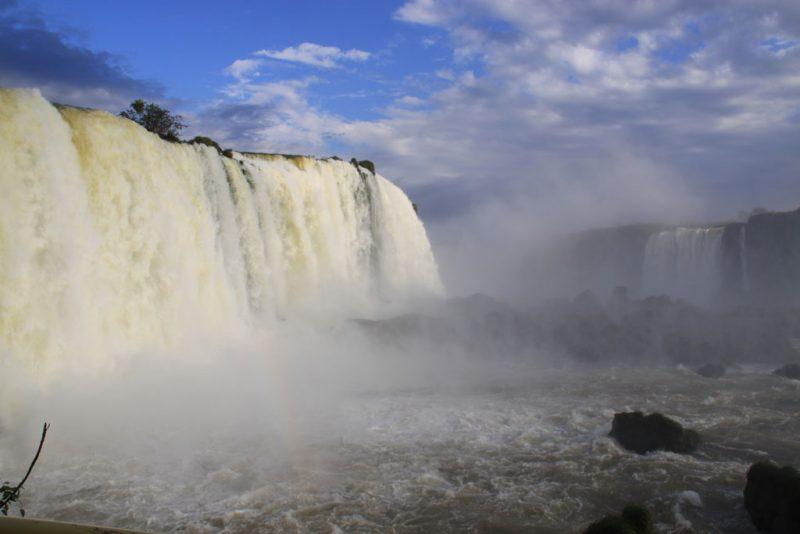 Base de las cascadas, en el lado brasileño 1