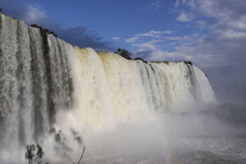 Base de las cascadas, en el lado brasileño 2