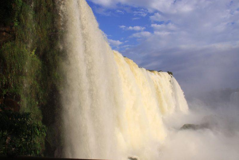 Base de las cascadas, en el lado brasileño 3