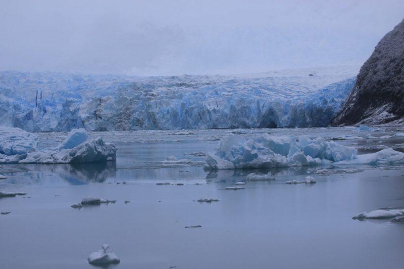 El frente del Glaciar Spegazzini