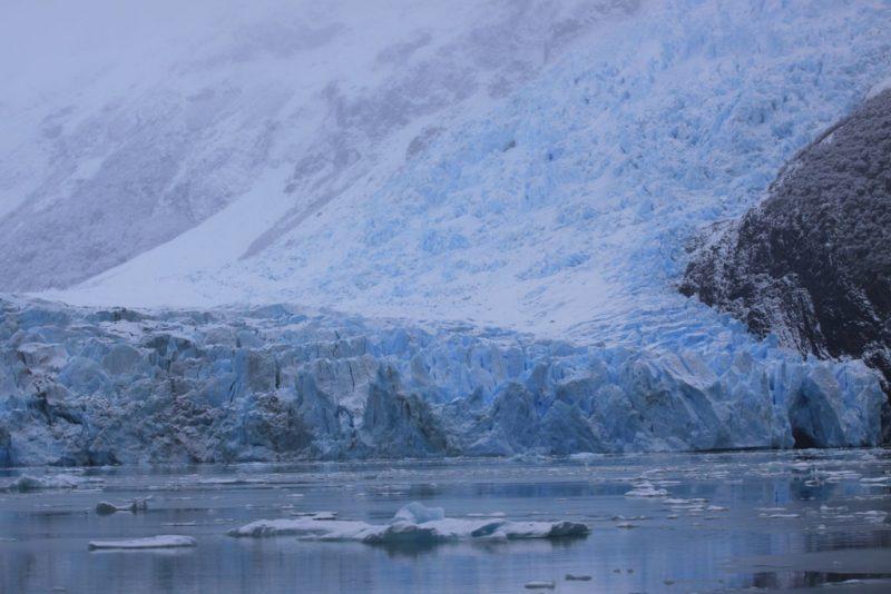 Otra vista del frente del Glaciar Spegazzini