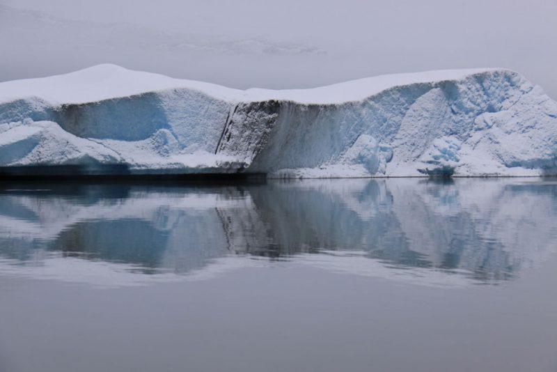 Colores, reflejos y formas imposibles en la ruta al Glaciar Perito Moreno