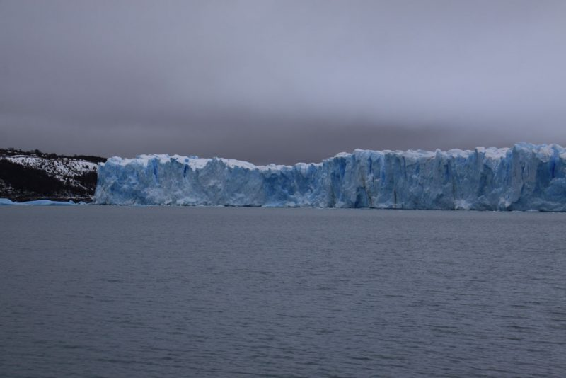 La cara norte del Glaciar Perito Moreno