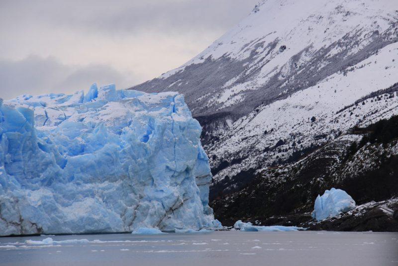 El hielo avanza sobre la Península Magallanes