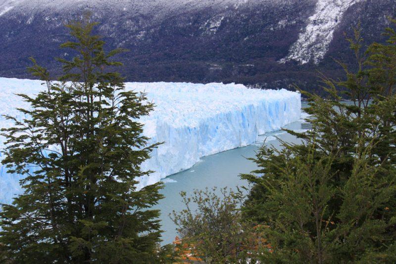 Cara norte del frente del Glaciar Perito Moreno, desde las pasarelas de la Península Magallanes 1