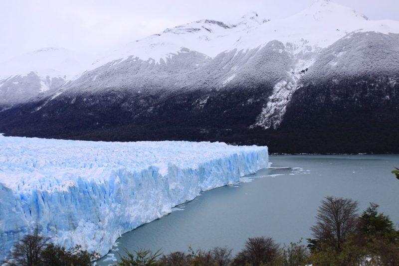 Cara norte del frente del Glaciar Perito Moreno, desde las pasarelas de la Península Magallanes 2