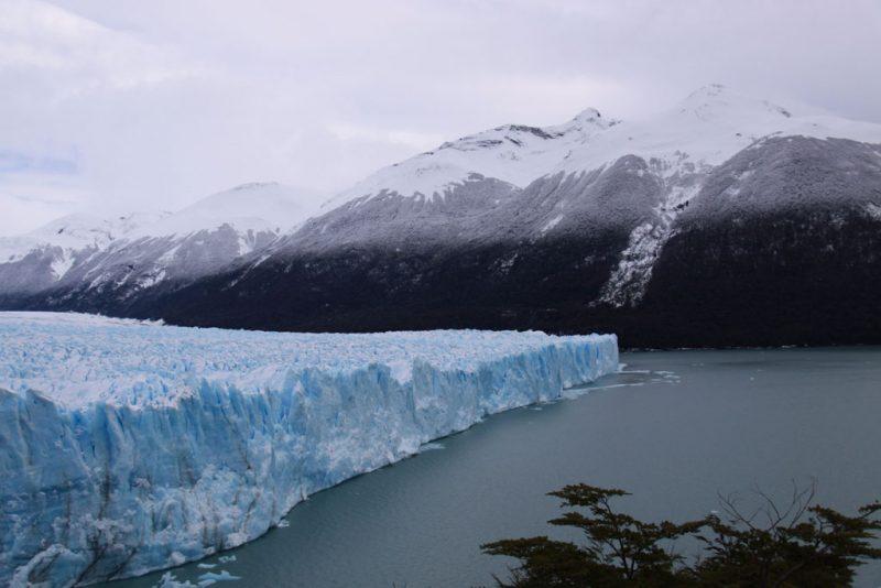 Cara norte del frente del Glaciar Perito Moreno, desde las pasarelas de la Península Magallanes 3