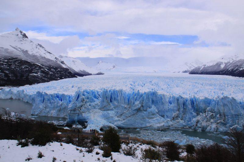 El Glaciar Perito Moreno, frente a la Península Magallanes 1