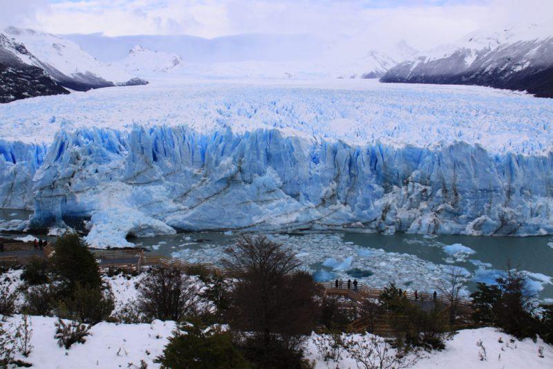 El Glaciar Perito Moreno, frente a la Península Magallanes 2