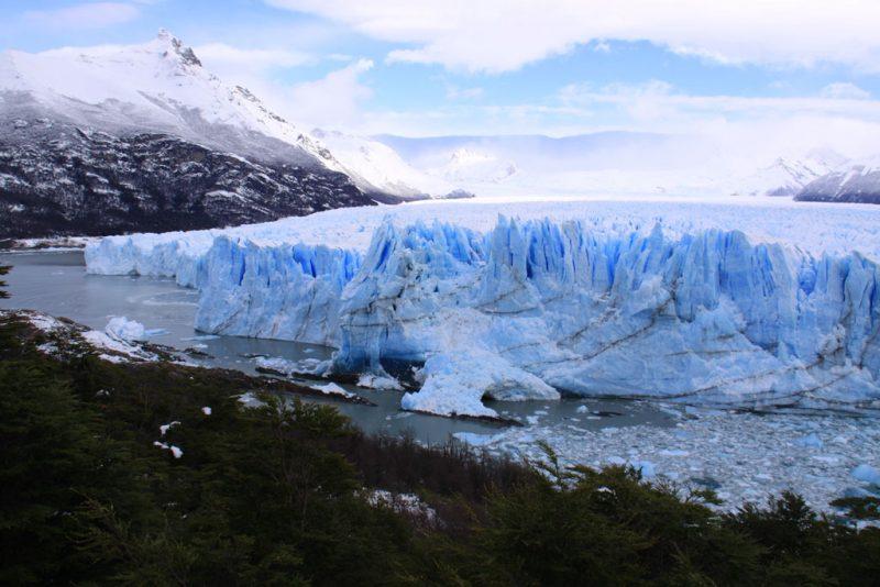 Punto de contacto entre el frente del Glaciar Perito Moreno y la Península Magallanes 3