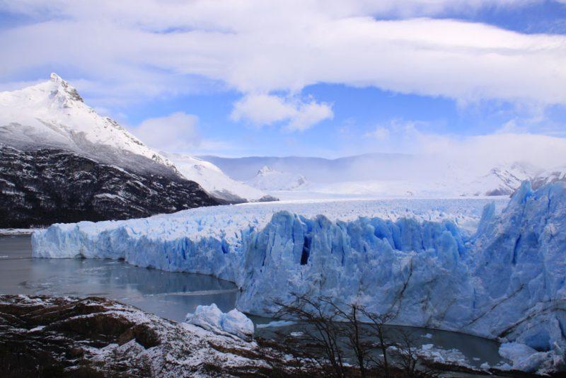 Punto de contacto entre el frente del Glaciar Perito Moreno y la Península Magallanes 4
