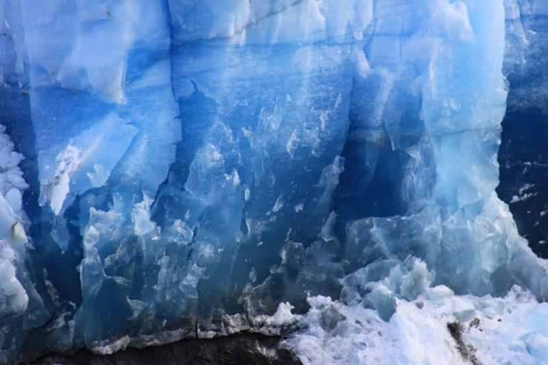 Los colores del hielo glaciar