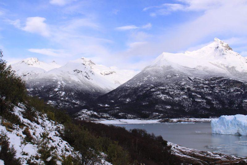 Cara sur del glaciar Perito Moreno, sobre el brazo Rico del Lago Argentino 1