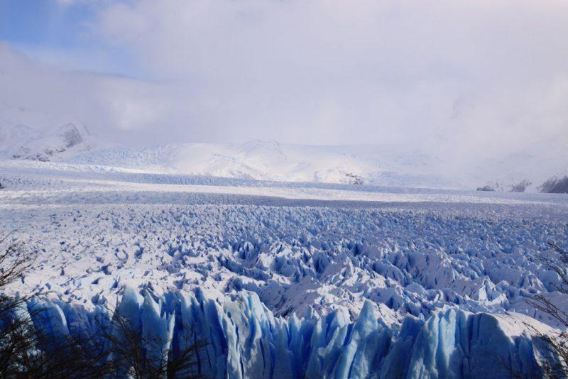 Las últimas imágenes del Glaciar Perito Moreno 1