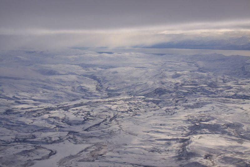 Las soledades patagónicas, desde el aire