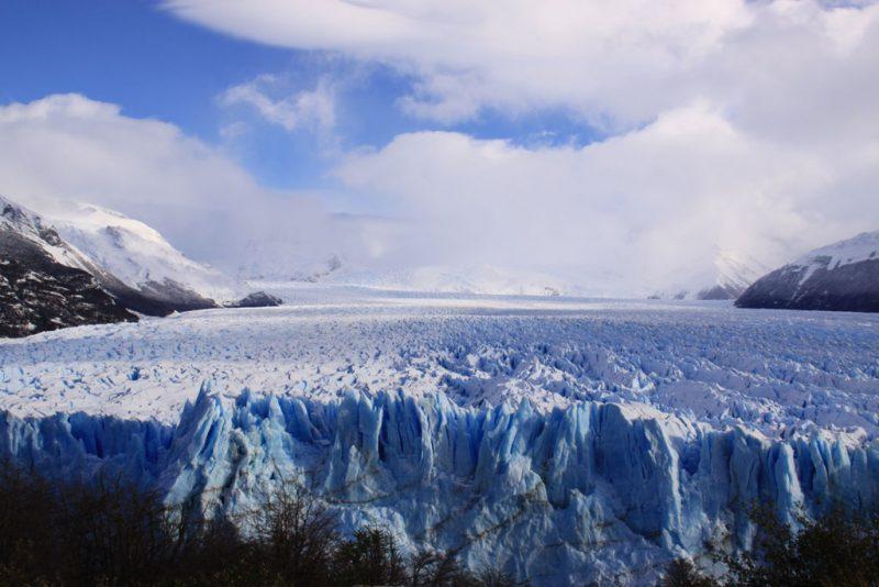 Las últimas imágenes del Glaciar Perito Moreno 2