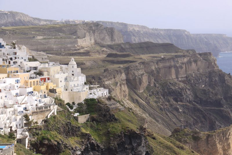 Firá y la geología de Santorini