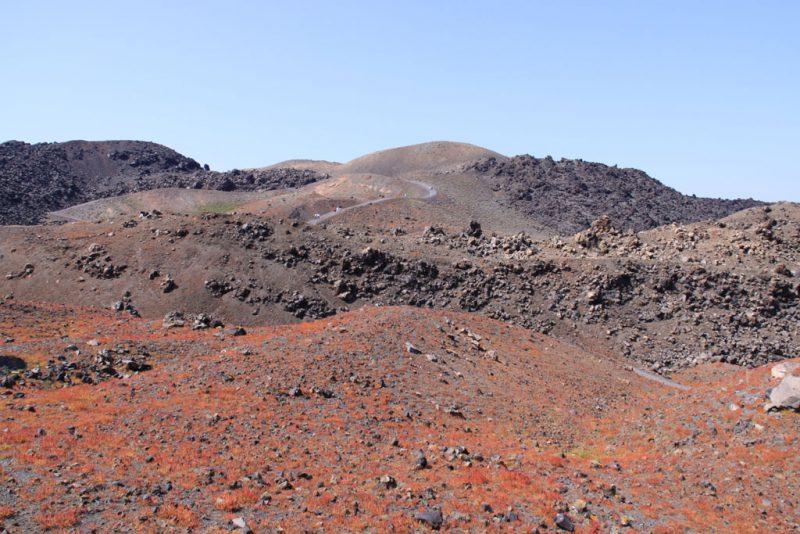 Paisaje volcánico en la isla de Néa Kaméni 1