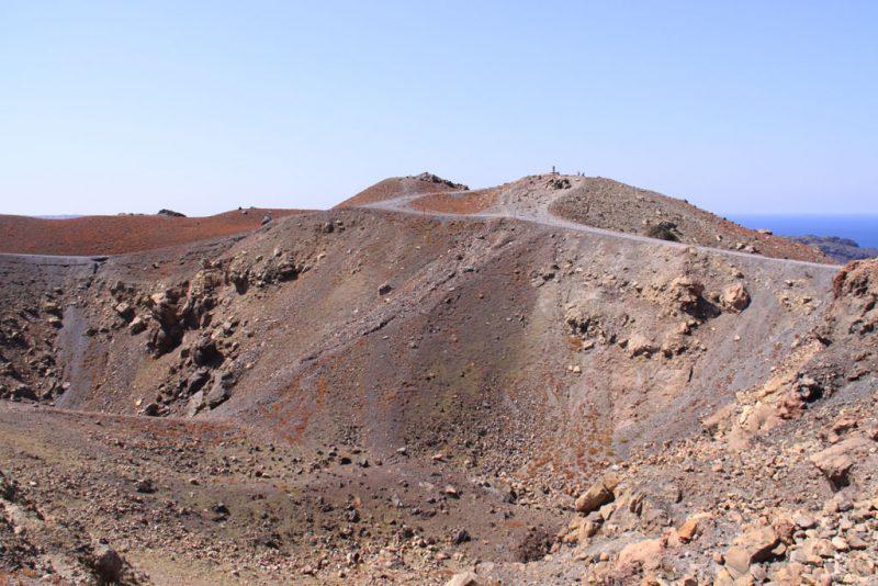 Paisaje volcánico en la isla de Néa Kaméni 2